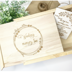 WEEDING MEMORY BOX